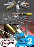 DURAFIX-EASYWELD 2 varillas para soldar aluminio + cepillo de acero inox GRATIS